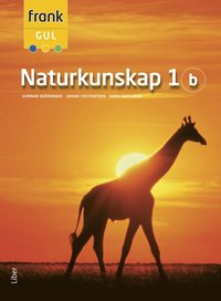 bokomslag Frank Gul Naturkunskap 1b