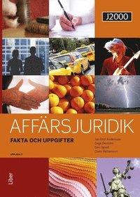 bokomslag J2000 Affärsjuridik Fakta & uppgifter