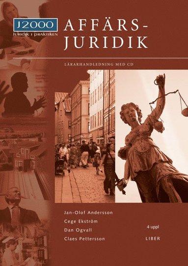bokomslag J2000 Affärsjuridik Lärarhandledning med cd