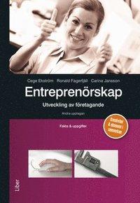 bokomslag Entreprenörskap - utveckling av företagande Fakta och uppgifter