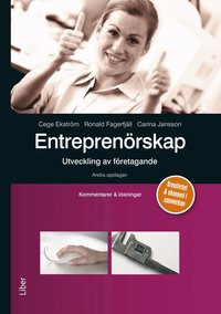 bokomslag Entreprenörskap - utveckling av företagande  Kommentarer och lösningar