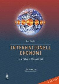 bokomslag Internationell ekonomi Lösningar