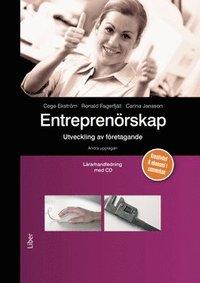 bokomslag Entreprenörskap Lärarhandledning med cd - utveckling av företagande