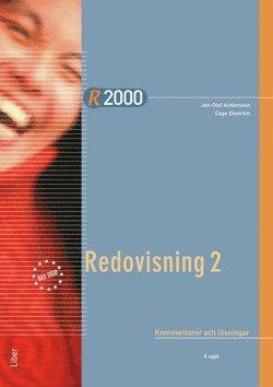 bokomslag R2000 Redovisning 2 Kommentarer och lösningar