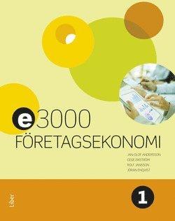 bokomslag E3000 Företagsekonomi 1 Faktabok
