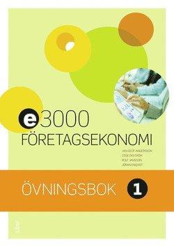 bokomslag E3000 Företagsekonomi 1 Övningsbok