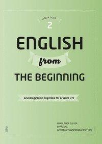 English from the Beginning 2 - Grundläggande engelska för årskurs 7-9
