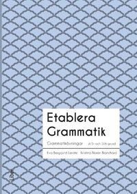 bokomslag Etablera Grammatik
