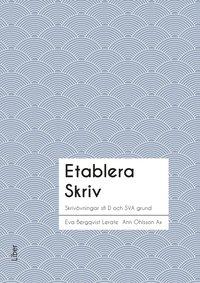 bokomslag Etablera Skriv