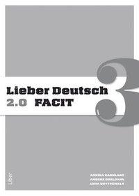 bokomslag Lieber Deutsch 3 2.0 Facit