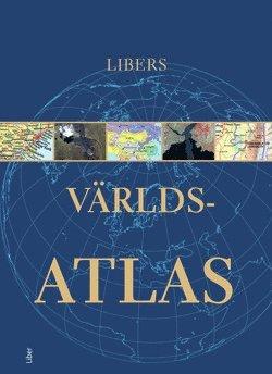 bokomslag Libers Världsatlas