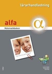 bokomslag Matematikboken Alfa Lärarhandledning