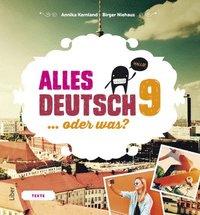 bokomslag Alles Deutsch 9 Textbok - Tyska för högstadiet