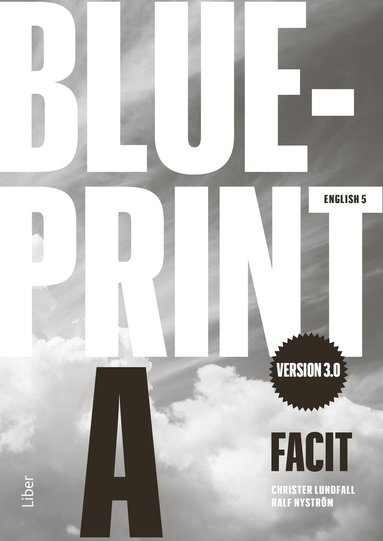 bokomslag Blueprint A version 3.0 Facit