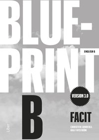 bokomslag Blueprint B version 3.0 Facit