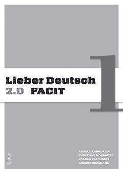 bokomslag Lieber Deutsch 1 2.0 Facit