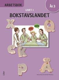 bokomslag Livet i Bokstavslandet Arbetsbok åk 3