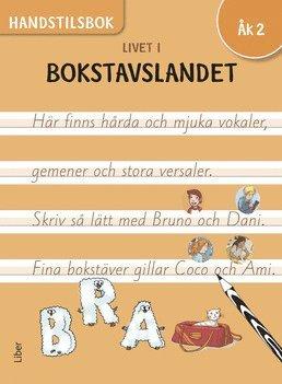 Livet i Bokstavslandet Handstilsbok åk 2 1