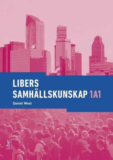 bokomslag Libers samhällskunskap 1a1