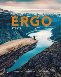 bokomslag Ergo Fysik 1