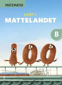 bokomslag Matematik Livet i Mattelandet Grundbok B