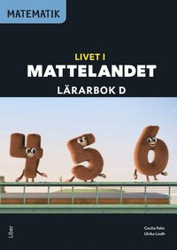 bokomslag Matematik Livet i Mattelandet Lärarbok D