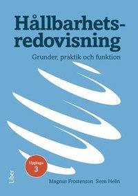 bokomslag Hållbarhetsredovisning : grunder, praktik och funktion