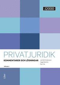 bokomslag J2000 Privatjuridik Kommentarer och lösningar