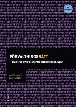 bokomslag Förvaltningsrätt : en introduktion för professionsutbildningar