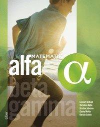 bokomslag Matematik Alfa Grundbok