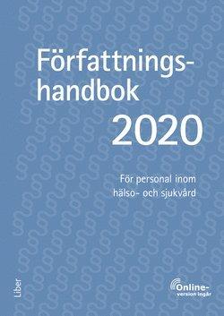bokomslag Författningshandbok 2020, bok med onlinetjänst