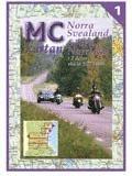 bokomslag MC-kartan Norra Svealand - Södra Norrland