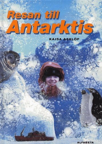 bokomslag Resan till Antarktis