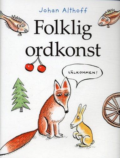 bokomslag Folklig ordkonst
