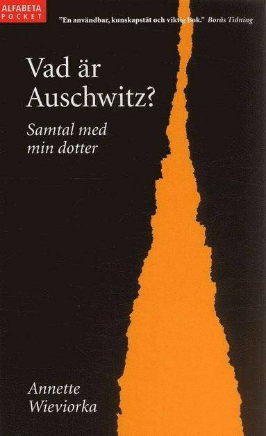 bokomslag Vad är Auschwitz? : samtal med min dotter