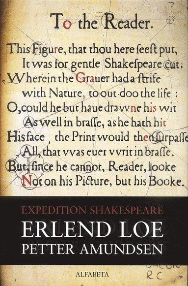 bokomslag Expedition Shakespeare
