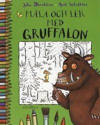 bokomslag Måla och lek med Gruffalon
