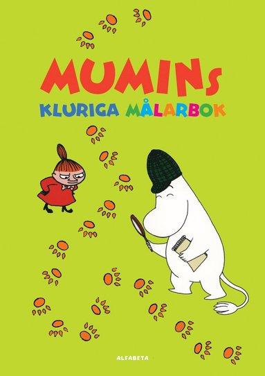 bokomslag Mumins kluriga målarbok