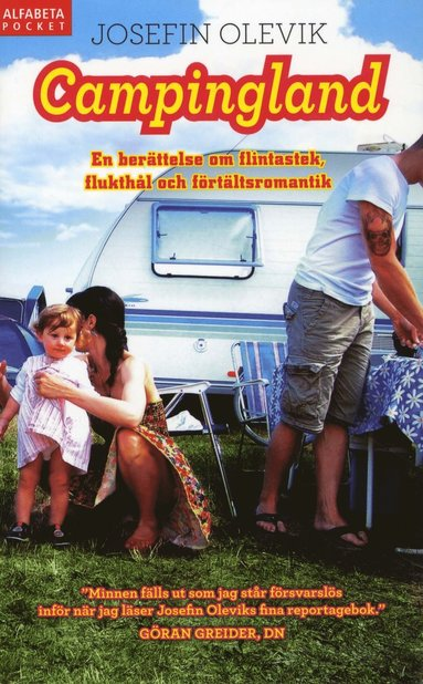 bokomslag Campingland : en berättelse om flintastek, flukthål och förtältsromantik