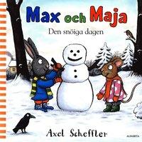 bokomslag Max och Maja. Den snöiga dagen