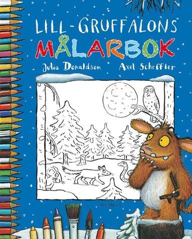 bokomslag Lill-Gruffalons målarbok