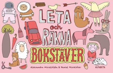 bokomslag Leta och räkna : bokstäver