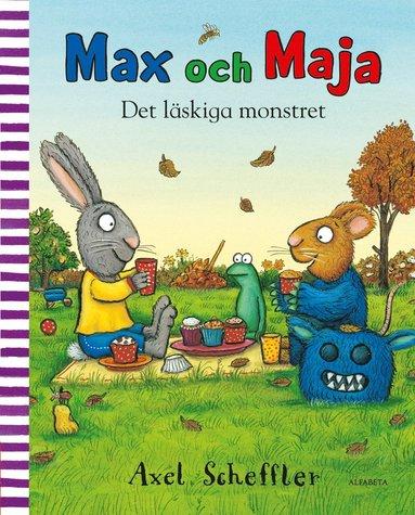 bokomslag Max och Maja. Det läskiga monstret
