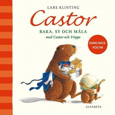 bokomslag Baka, sy och måla med Castor och Frippe