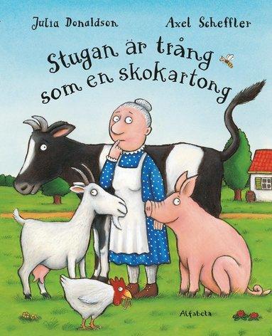 bokomslag Stugan är trång som en skokartong