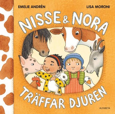 bokomslag Nisse & Nora träffar djuren