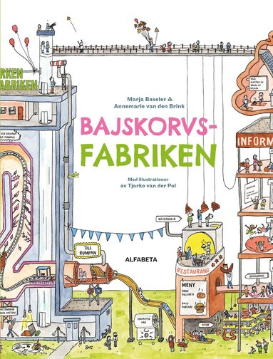 bokomslag Bajskorvsfabriken