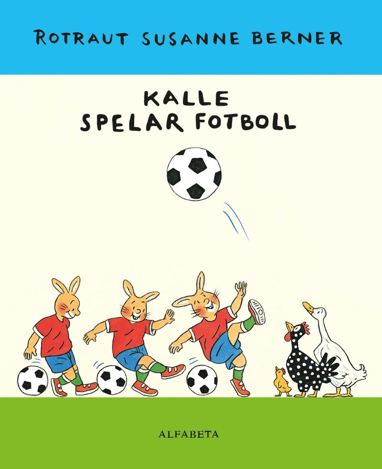 Kalle spelar fotboll 1