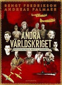 bokomslag Andra världskriget : människorna mitt i striden
