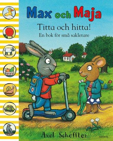 bokomslag Titta och hitta! : en bok för små sakletare